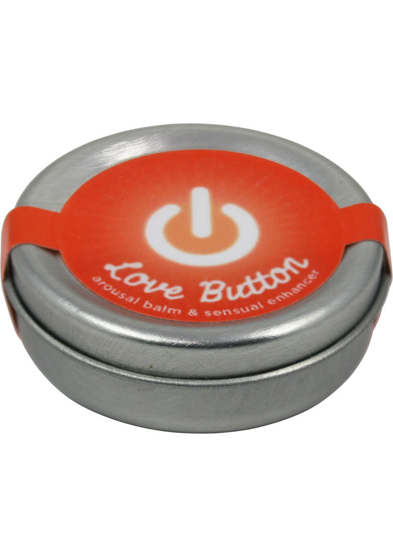 Earthly Body Love Button Cooling Arousal Balm And Sensual Enhancer Tin .45oz