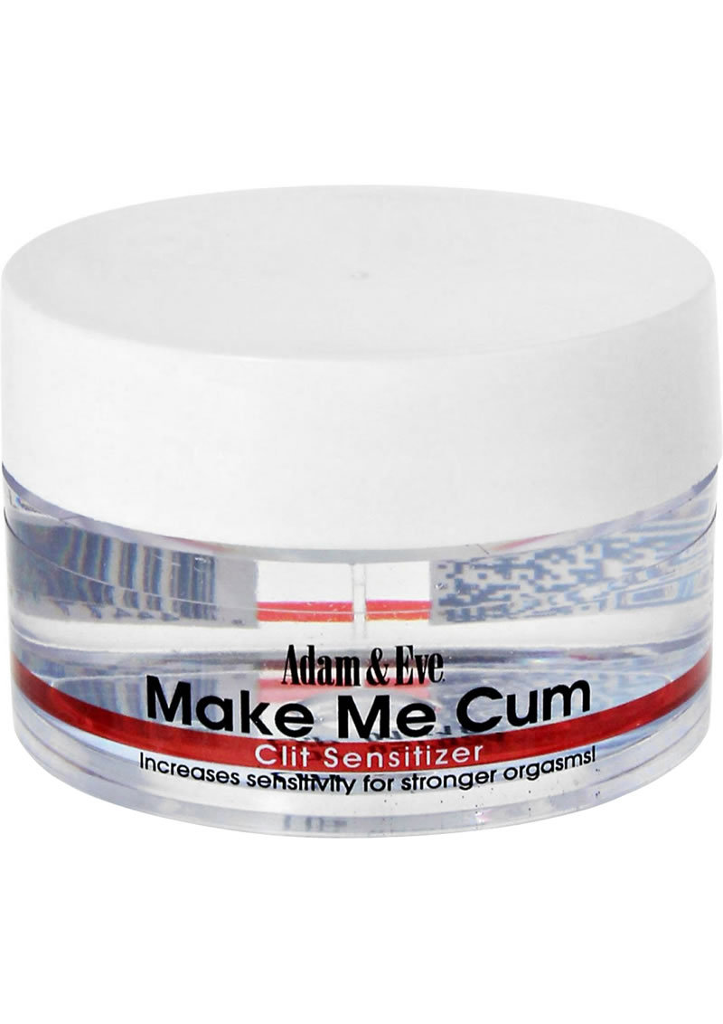 Adam And Eve Make Me Cum Clit Sensitizer Cream .50oz